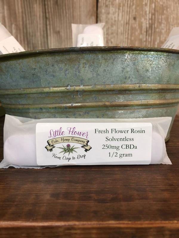 Fresh Flower Rosin Solventless Disposable Vape