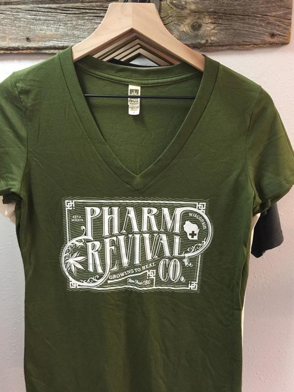 Women's Pharm Revival T-shirt in Green