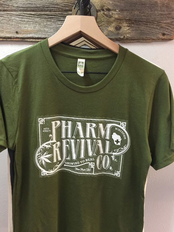Men's Pharm Revival T-shirt in Green