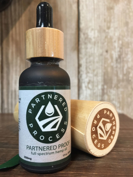 2500mg Partnered Process Full Spectrum Hemp Oil