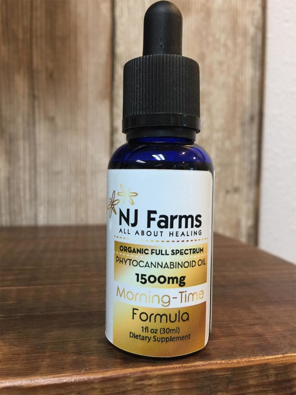 1500mg Morning Time CBD Oil