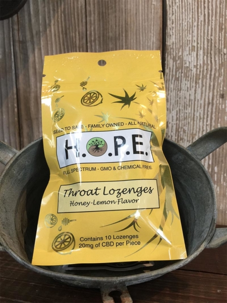 10 Packs of Honey-Lemon Flavor Throat Lozenges