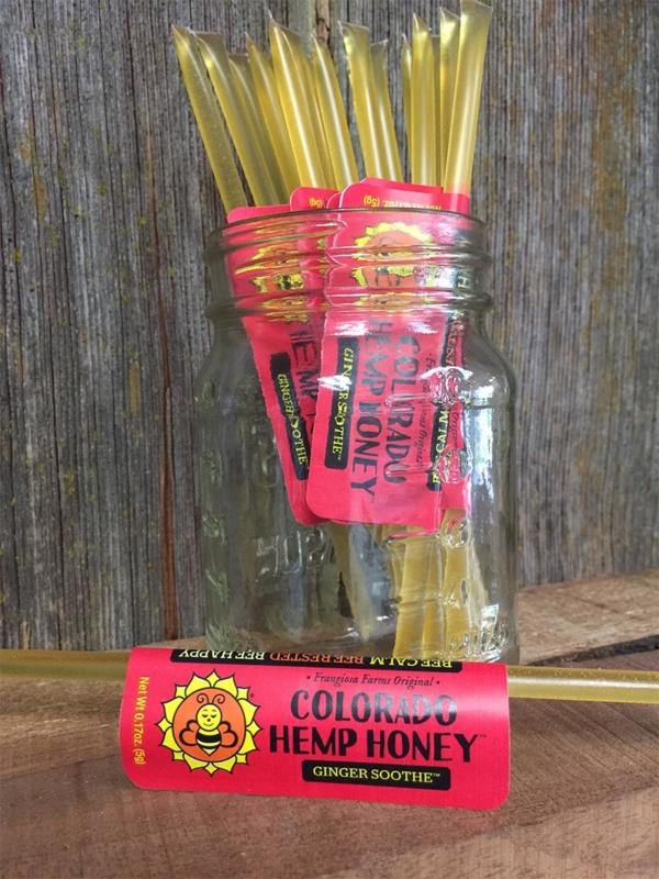 Stick of Ginger Soothe Full Spectrum Hemp Honey