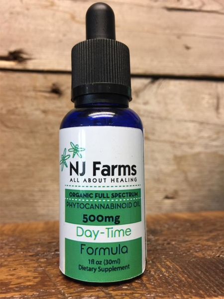 500mg Day Time CBD Oil
