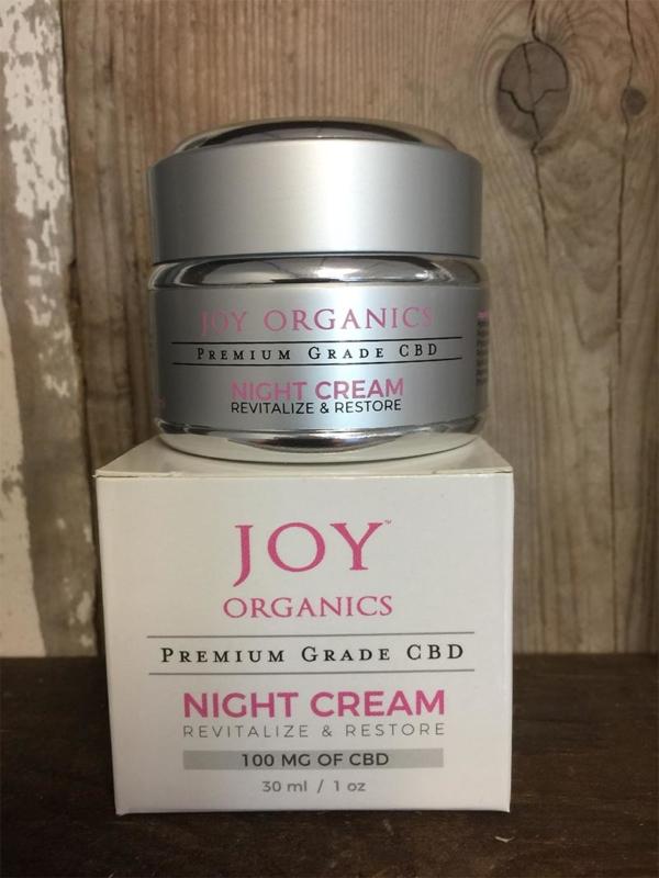 Premium Grade CBD Night Cream