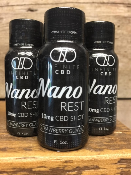 Strawberry Guava Nano Rest CBD Shot