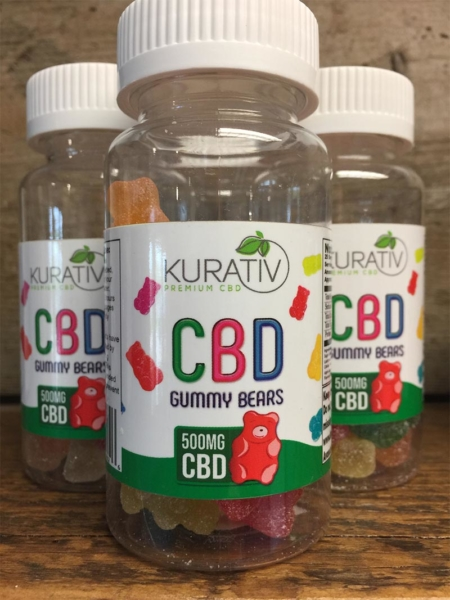 25 Pack of CBD Gummy Bears