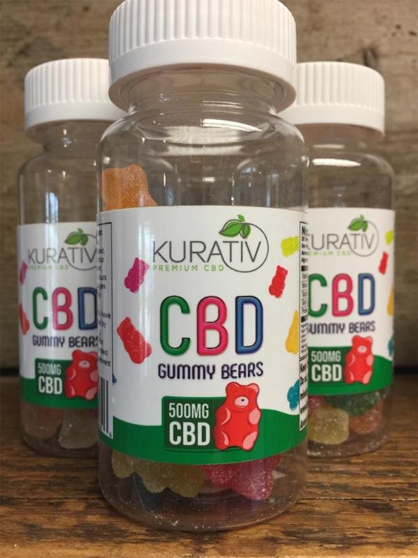 25 Pack of CBD Gummy Bears